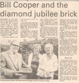 Bill Cooper's Brick - West Street, Godmanchester. ( source - The Weekly News.)