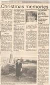 Christmas memories in West Street. ( source - Huntingdon Weekly News.)