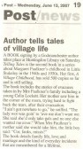 Telling tales 2007. ( source - Hunts Post.)