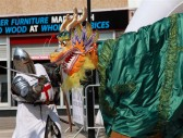 St George's Day Celebrations, Huntingdon 2011.Photo David King.