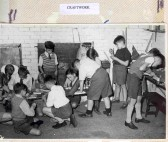 Huntingdon County Primary School - Craft class.