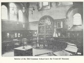 H G S Interior of Old Grammar School in early 20th century.  Source Ralph Lamb.