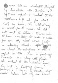 Page 4 of letter from Phyllis at time of Armistice.Source Goodliff archive