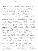 Page 7 of letter about Armistice.Source Goodliff archive