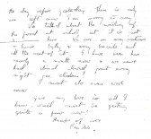 Page 3 of letter from Phyllis to