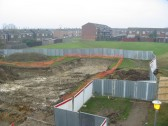 Building Started at Sapley Square, Oxmoor, Huntingdon