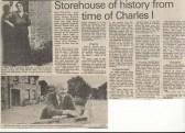 History of Merritt Street.1985. ( source - Huntingdon Weekly News.)