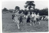 Hartford school's mums' race at 'The Pits.' End right perhaps Janet Maddy.