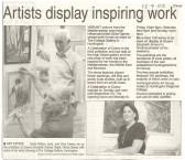 Art exhibition at Godmanchester. (source Hunts Post.)