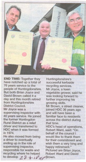Presentation to Council employees.Source Hunts Post.