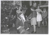 Church Christmas party, probably in St.Mary's Parish Church Hall.