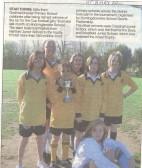 Godmanchester Primary School cup winners.Source Hunts Post.