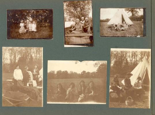 Guide Camp at Brampton Park 1921Goodliff Archive.