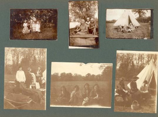 Guide Camp at Brampton Park.Goodliff Archive.