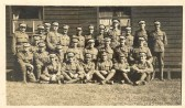1st World War  soldiers possibly on Mill Common.Source Goodliff Archive