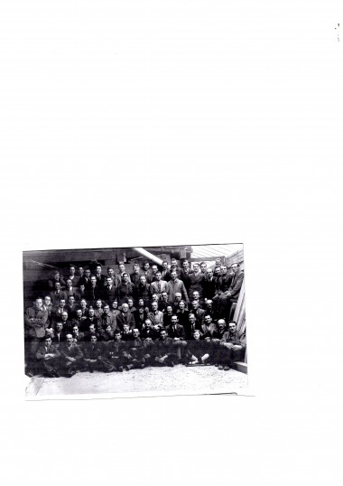 The working staff at Scotney's Timber Yard St Ives.
