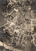 Aerial view of Huntingdon in 1937