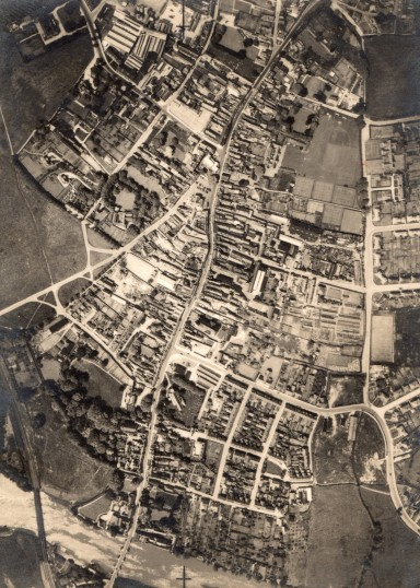 Aerial view of Huntingdon