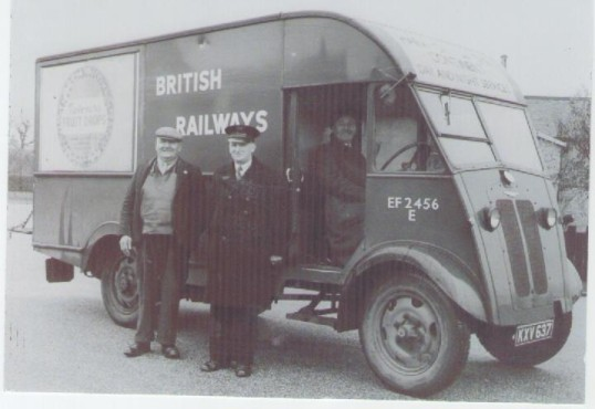 British Railways Delivery Van