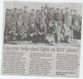 RAF Wyton personnel circa 1952