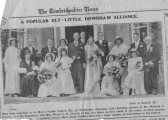 Wedding of Mr Bertram Stevens and Miss Diana Graven