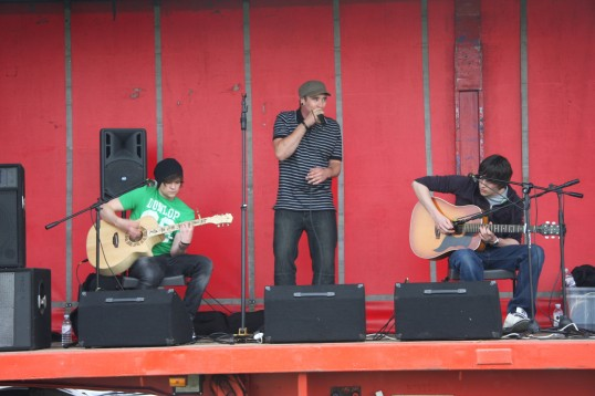 NOTE TO MYSELF (ERROR 404) playing at the Little Downham Village Fete.