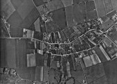 Little Downham aerial photo.. Orchards