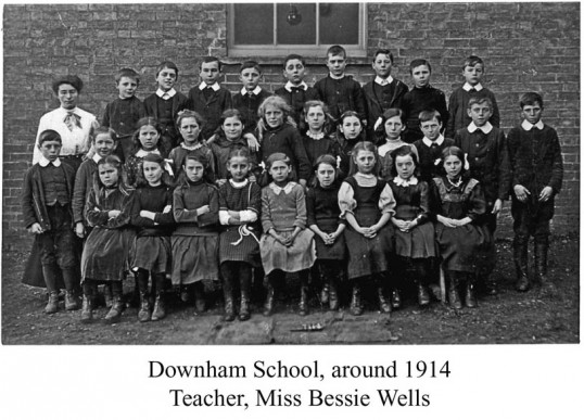 Feoffees School, Little Downham, 1914