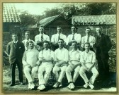 Little Downham village cricket team.
