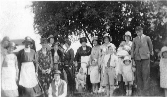 Downham Methodist Garden Party.