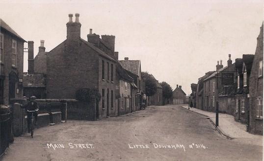 Main Street, looking West.
