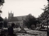 St Leonards Church, Little Downham.(From the Cambridge Collection)