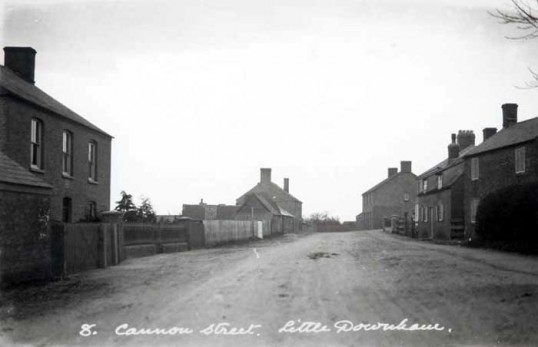 Cannon Street, Little Downham. (From the Cambridge Collection)