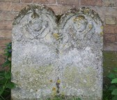 Gravestone, St. Leonards churchyard, Atkin, Susanna.. Wedding of Rebecca (Annie) Waddelow  and ?  Lythel