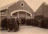 Opening of Baptist Hall, Main Street, Little Downham.. Opening of new Baptist Schoolroom
