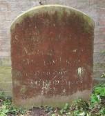 Gravestone, St Leonard's Churchyard.. Gravestone, St. Leonards Churchyard, Little Downham.