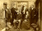 Palmer Family, Little Downham.. Mr. J.C. & Mrs. L.B. Palmer and family, on the occasion..