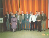 Little Downham Parish Council 1989. Kathy lark tells of the people in this photo. The..
