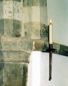 Candle Sconce, St. Leonard's Church, Little Downham