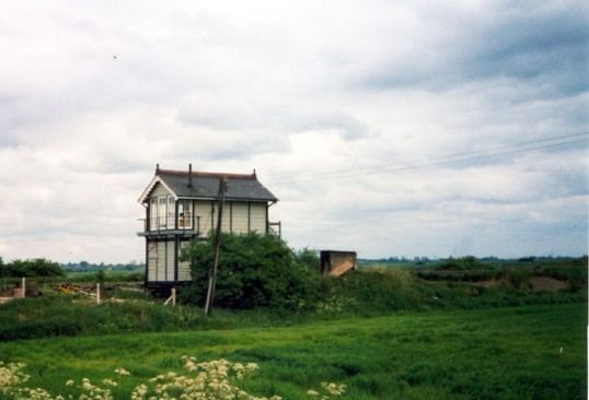 Black Bank Signal Box, nr. Little Downham.