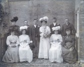 Wedding of Ethel Waddelow, Little Downham.