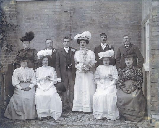 Wedding of Ethel Waddelow, Little Downham.