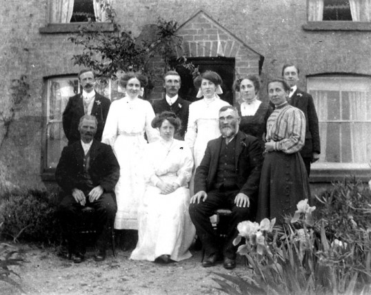 Alice Lofts and Walwyn Hull Wedding, Little Downham.