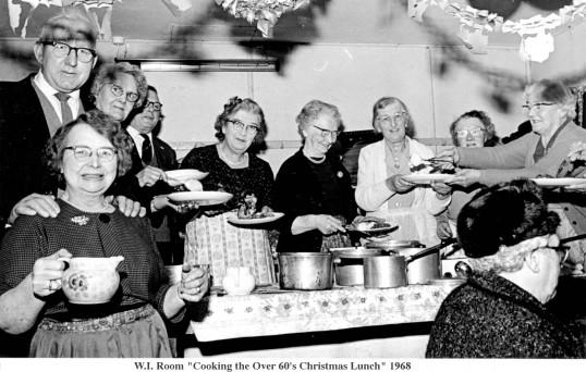 Christmas cooks, Little Downham.