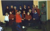 Little Downham WI Millennium year members.. The Little Downham branch of the W.I. was the oldest in..