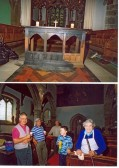 Fire at St. Leonard's Church. In September 2006, vandals entered the church and set..