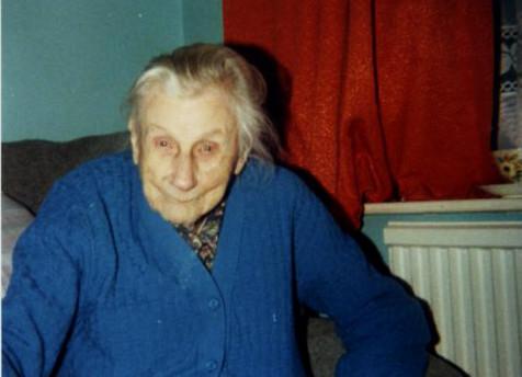 Centenarian Alice Crane.