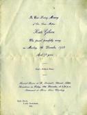 Memorial card Kate Gibson.
