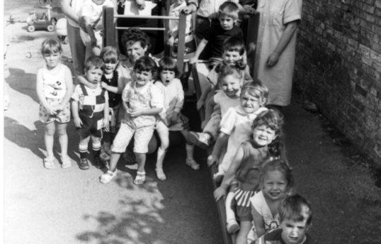 Downham Playgroup,  1989.
