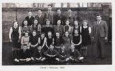 School pupils, Little Downham.